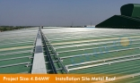 Industrial Metal Roof 4.8MW